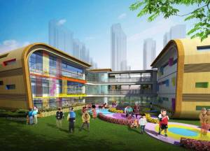 Activity-zone-of-SuZhou-133BaiTang-One-Kindergarten-Project